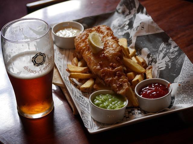 Фото рыбы в кляре с пивом