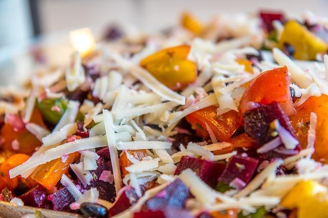 Фото салата со свеклой