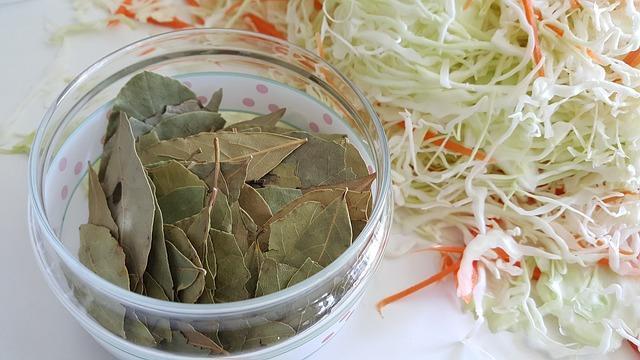 Фото капусты с лавровым листом