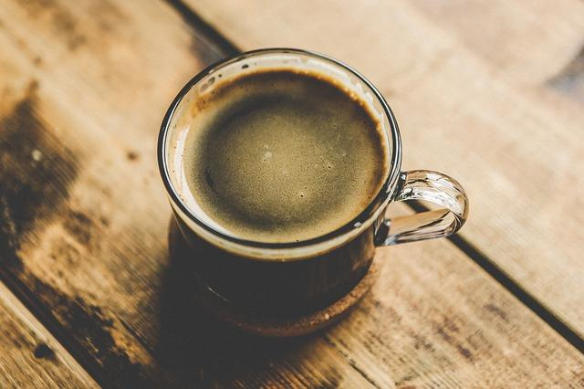 Кружка кофе для гадания на гуще