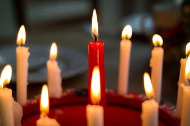 Фото восковых свечей на 40 лет