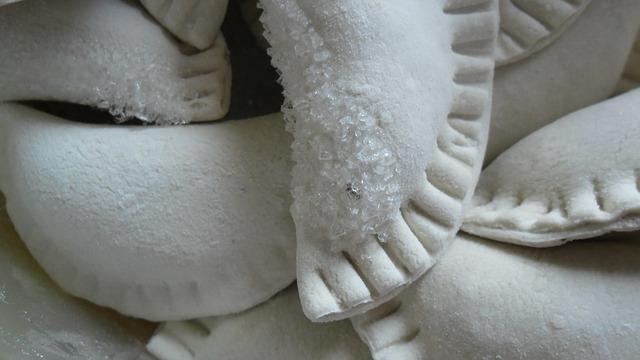 Замороженные вареники