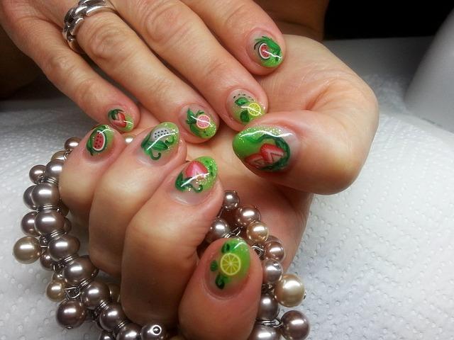 Фото оригинальных ногтей с шеллаком