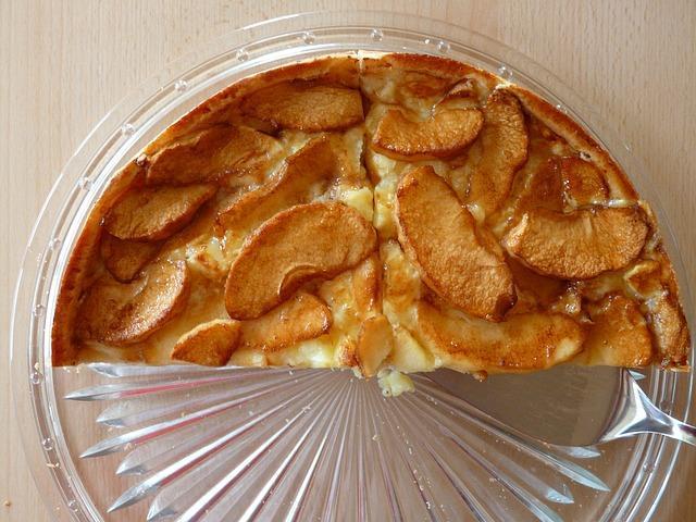 Диетический пирог с яблоками