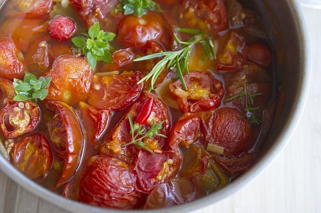 Тушеные томаты на зиму