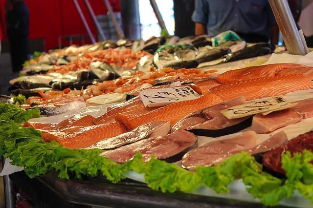 Фото рыбного рынка в Европе