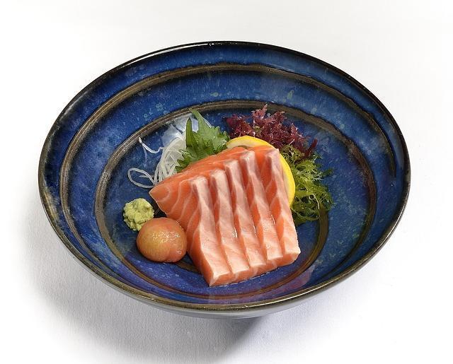 Сашими из семги