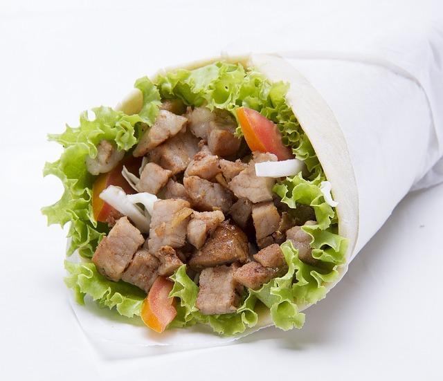 рецепт домашней шаурмы со свининой в лаваше