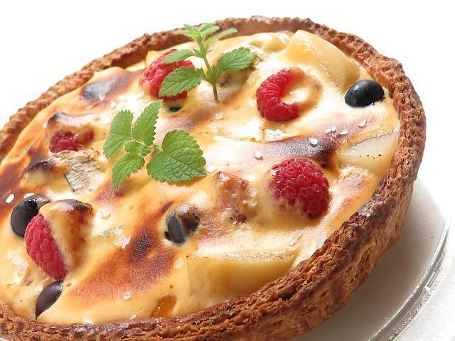 Вкунсый фруктовый пирог