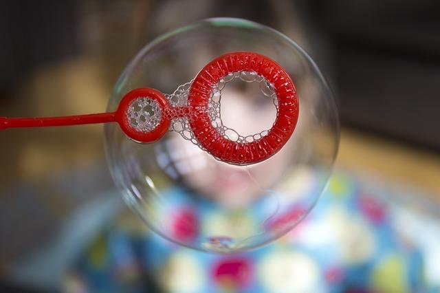 Ручка для надувания пузырей