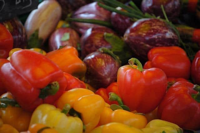 Ингредиенты для овощного салата на зиму