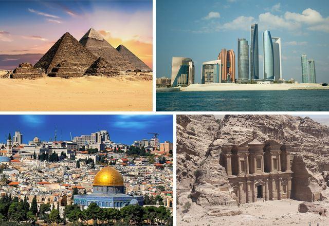 Египет, ОАЭ, Израиль, Иордания