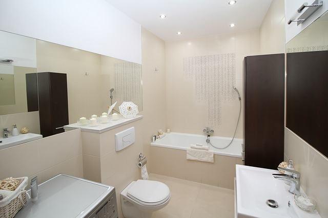 Фото элитного ремонта в ванной и туалете