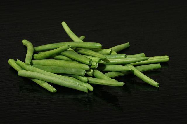 Стручки зеленой фасоли