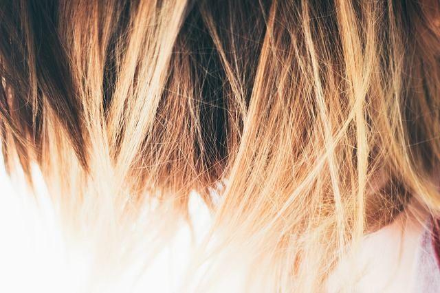 Омбре на светлые волосы