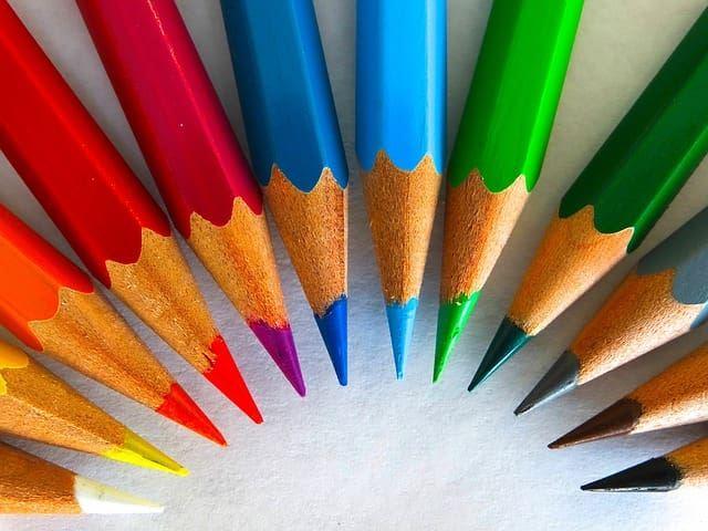 Фото цветных карандашей